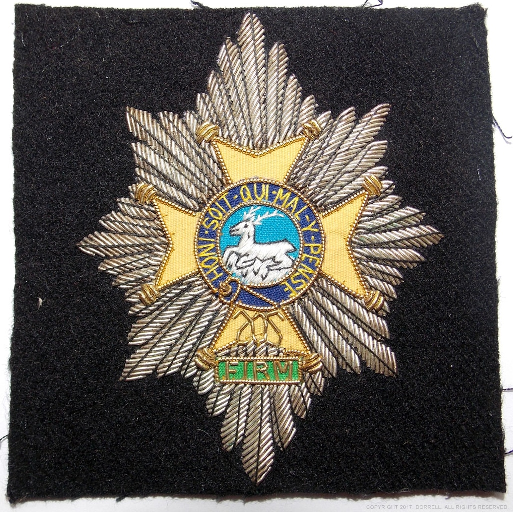 Worcestershire & Sherwood Forester Regiment blazer