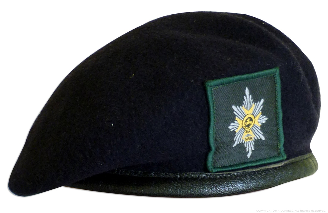 WFR beret, Worceters and Foresters