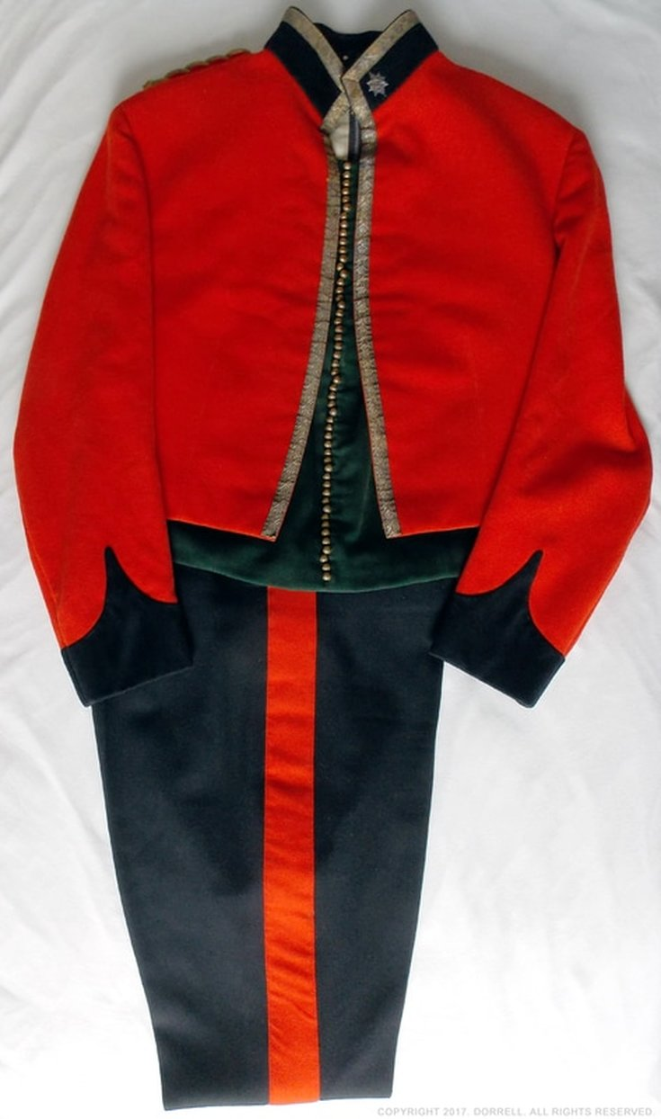 WFR Officer's No. 10 Mess Dress