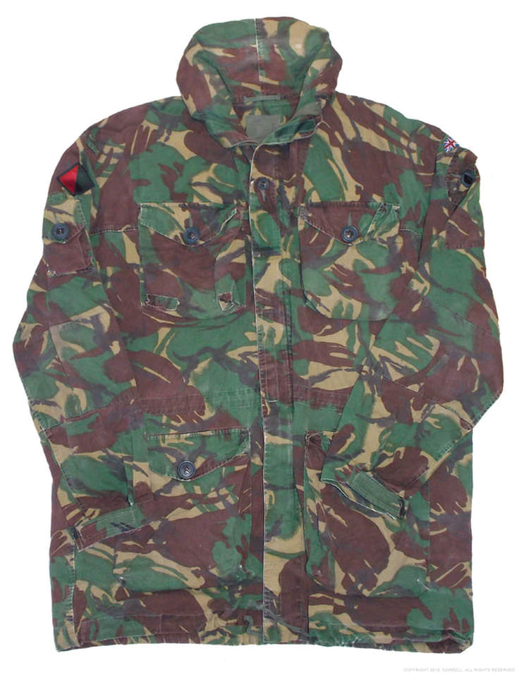 1 WFR SP Combat Artic Smock. Worceters and Foresters