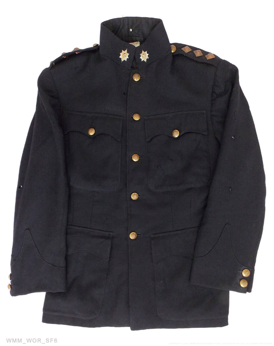 1939 Blue Patrol jacket from Capt. Chesshire MID.