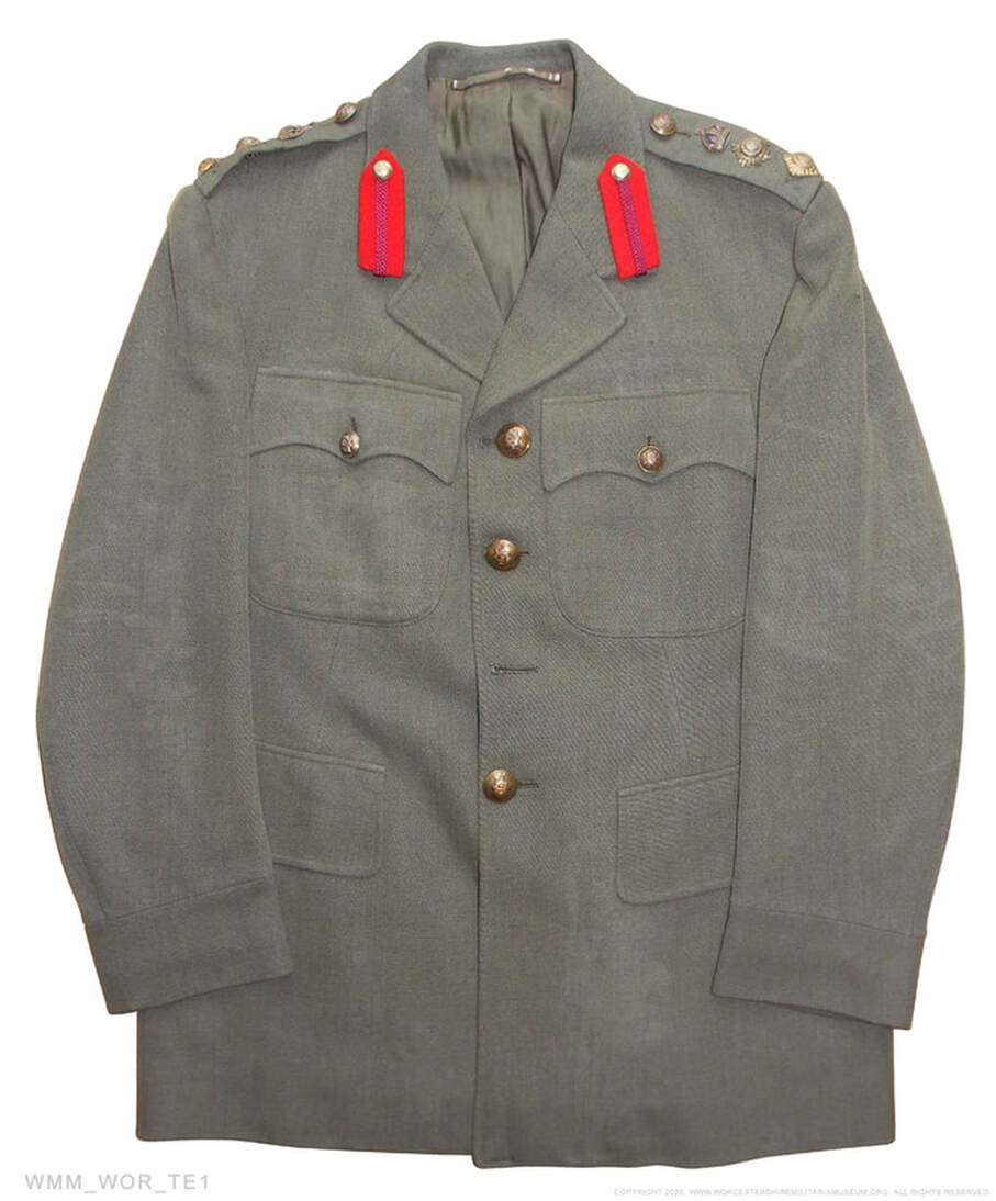 Worcestershire Regiment Colonel's economy tunic.