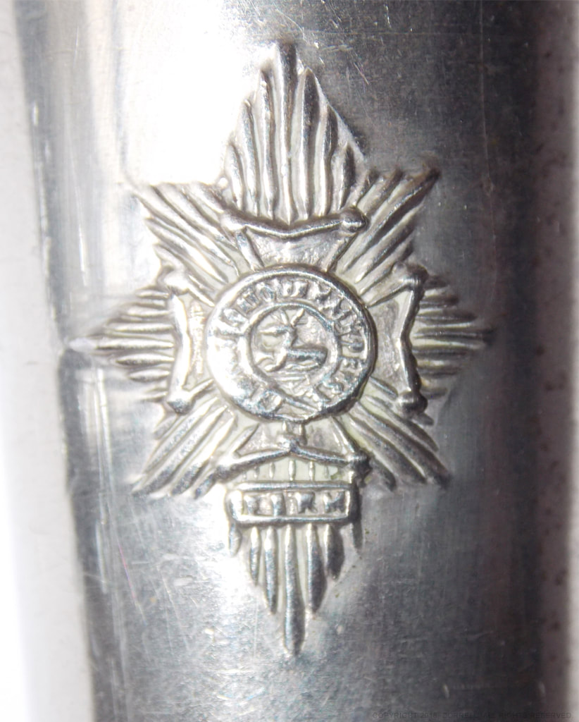 Worcestershire & Sherwood Forester Regiment drill cane.